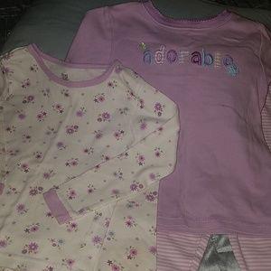 Carter's Girls Pajamas